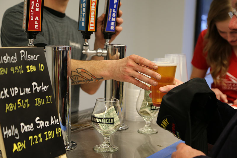 Bombshell Beer Company - Happy Hour at The RTP - Join us at The Frontier!