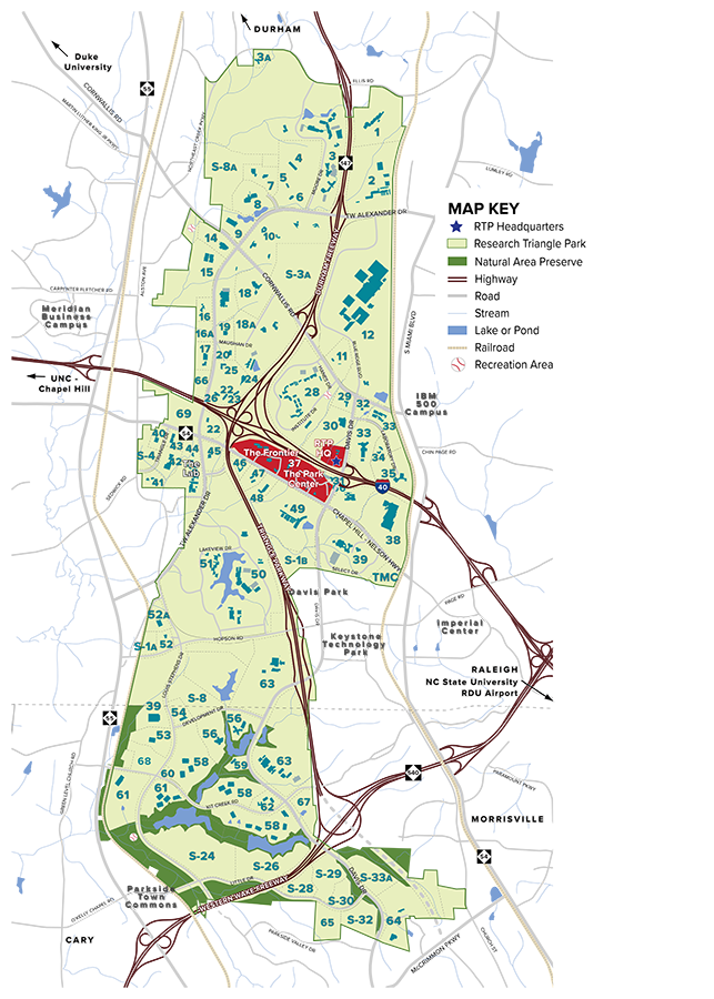 Ibm Rtp Campus Map.Interested In Locating Your Business In Rtp