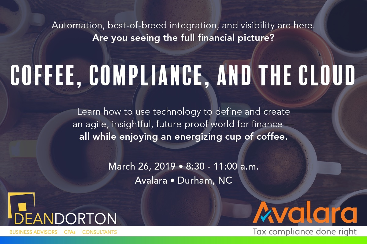 Coffee, Compliance, and the Cloud