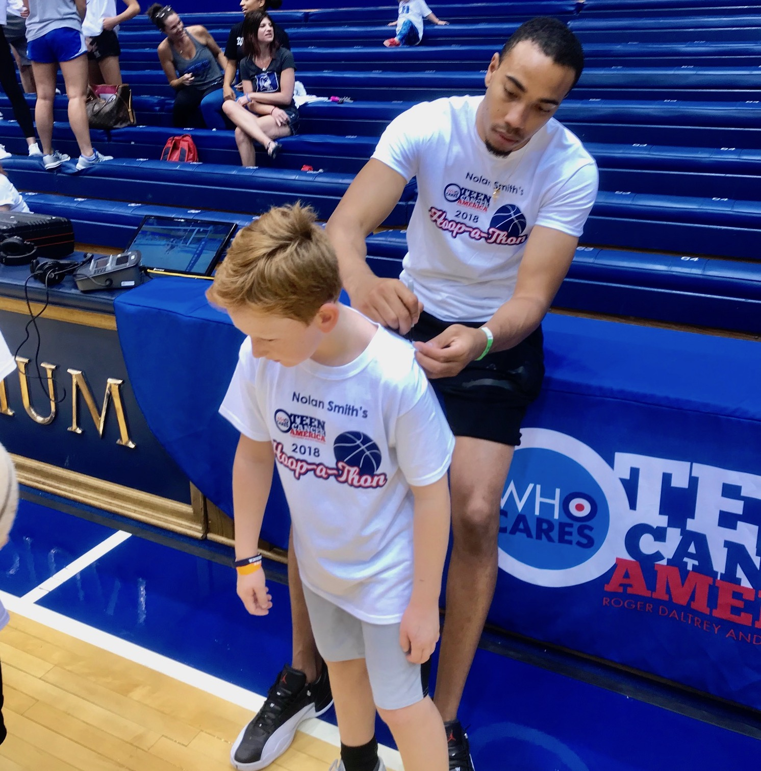 Teen Cancer America Hoop-a-Thon: The Rivalry 2019