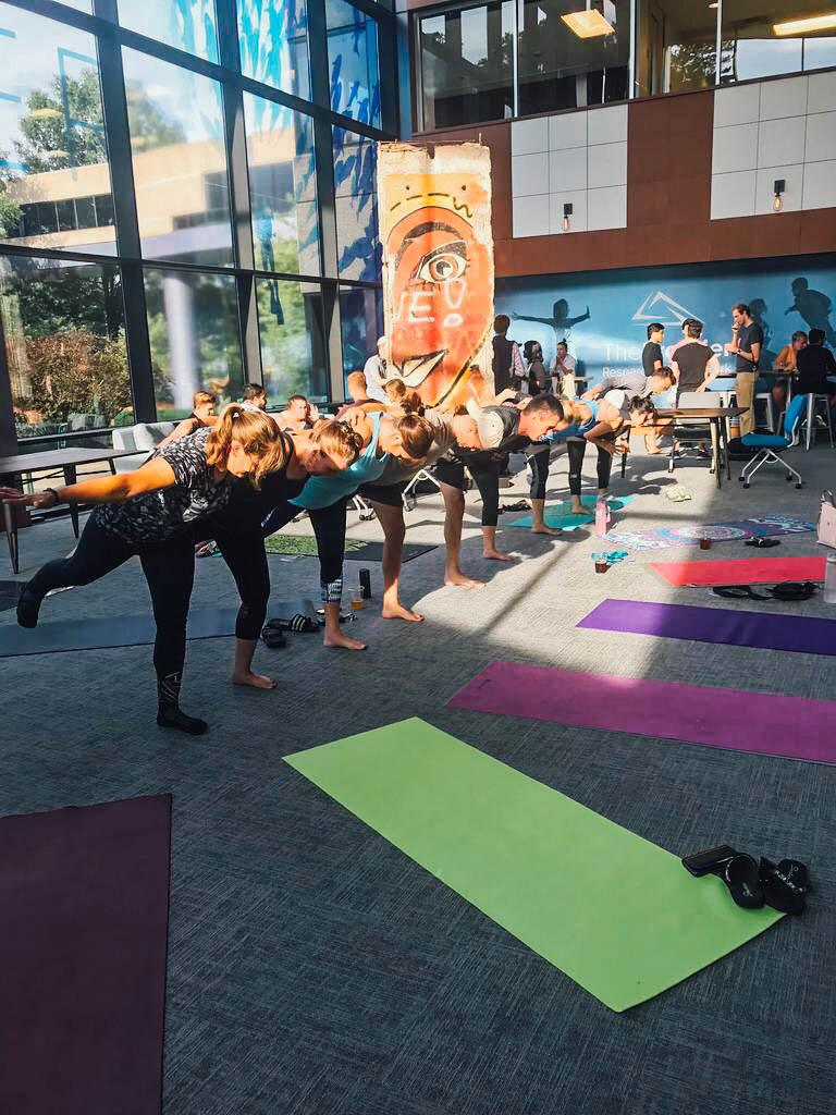 RTP Yoga Pop-Up
