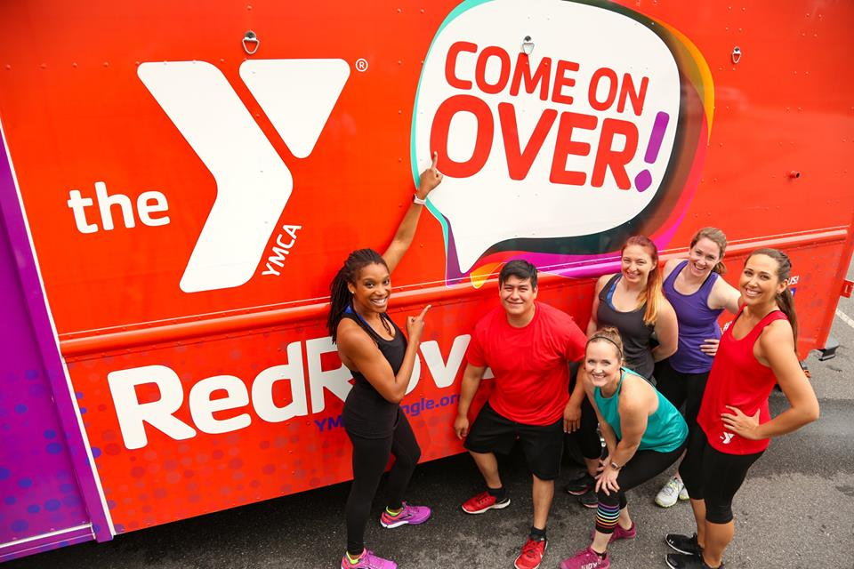 Rover YMCA Popup during the Food Truck Rodeo