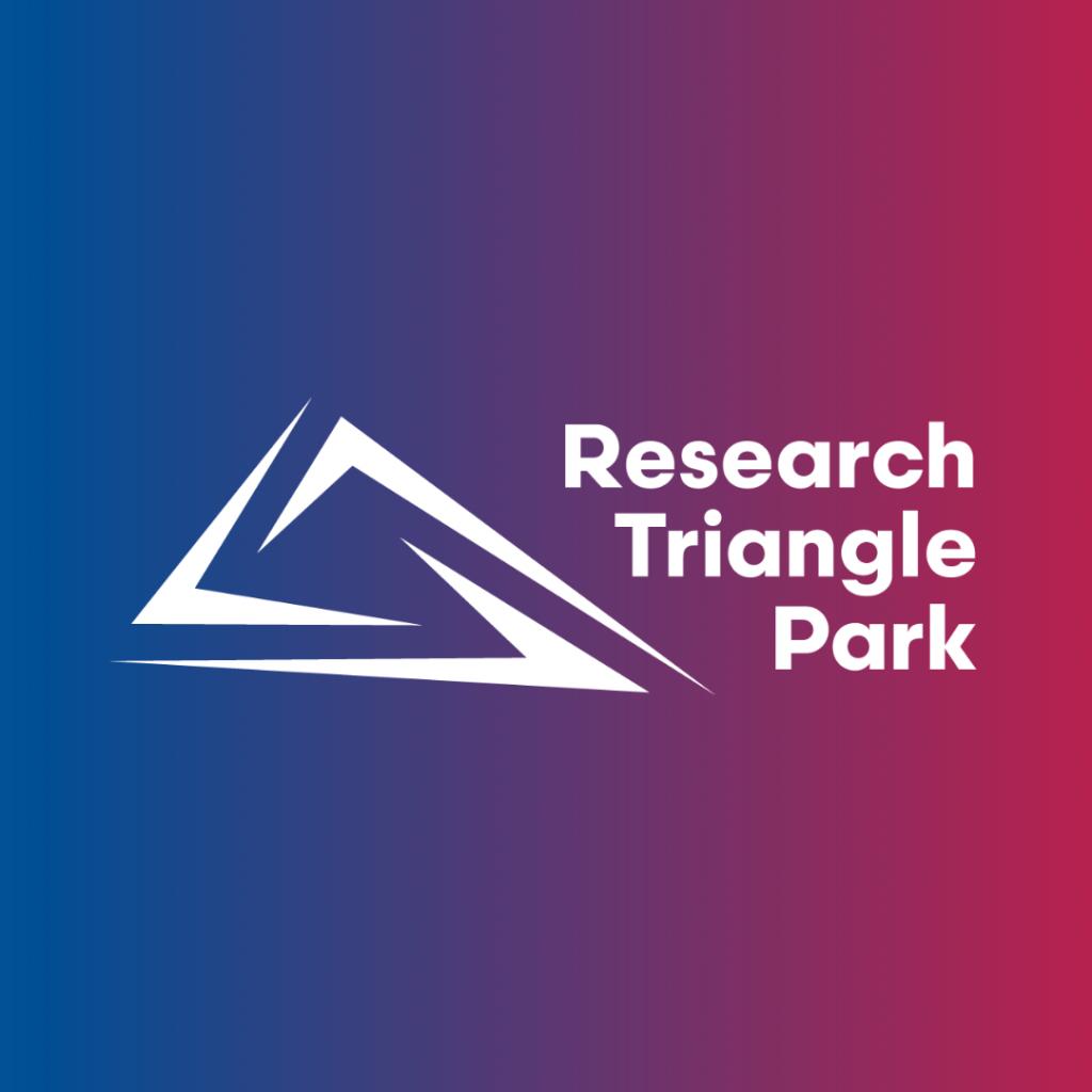 RTP logo white on gradient