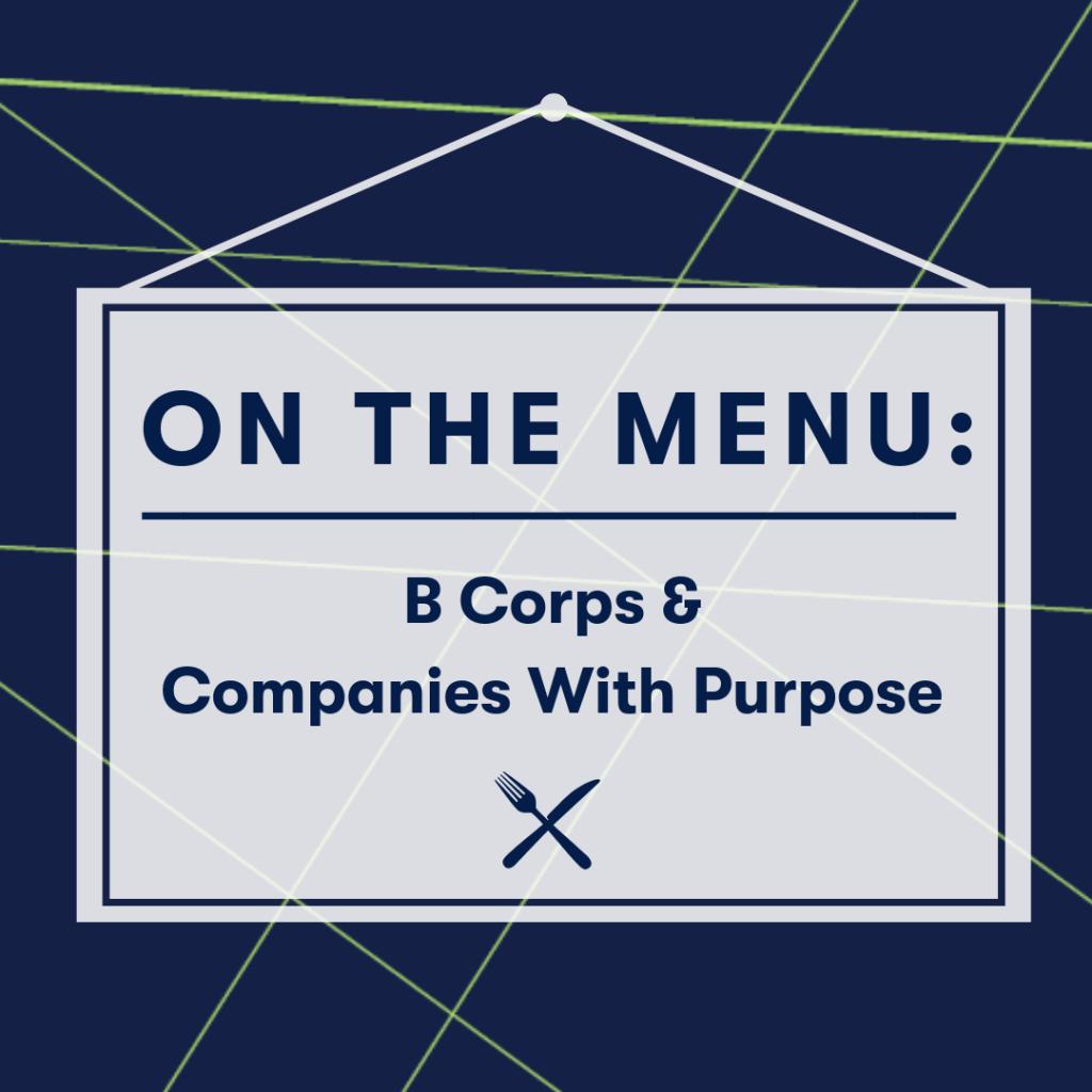 on the menu b corps