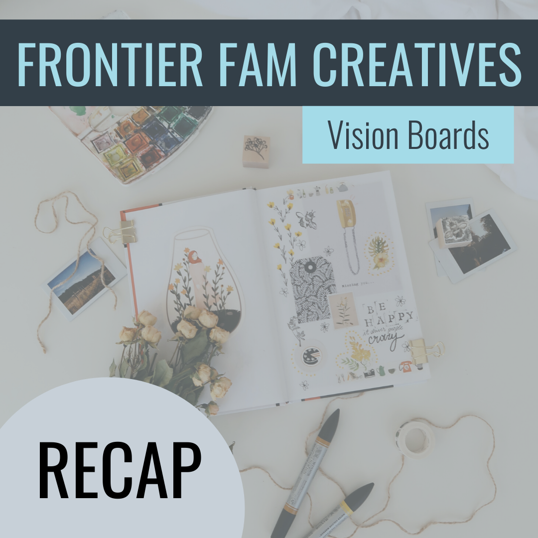 frontier fam vision boards