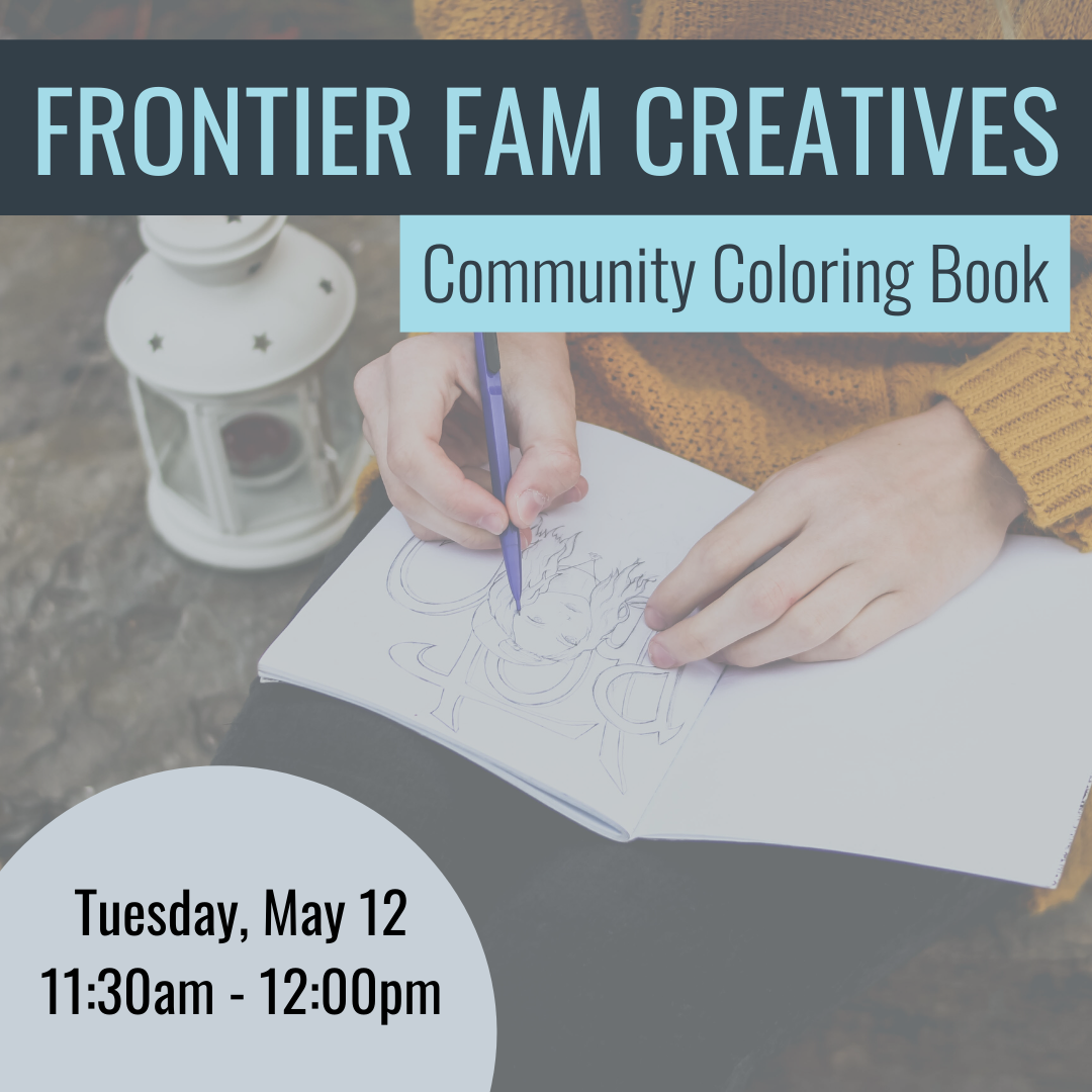 Frontier Fam Creatives Community Coloring Book