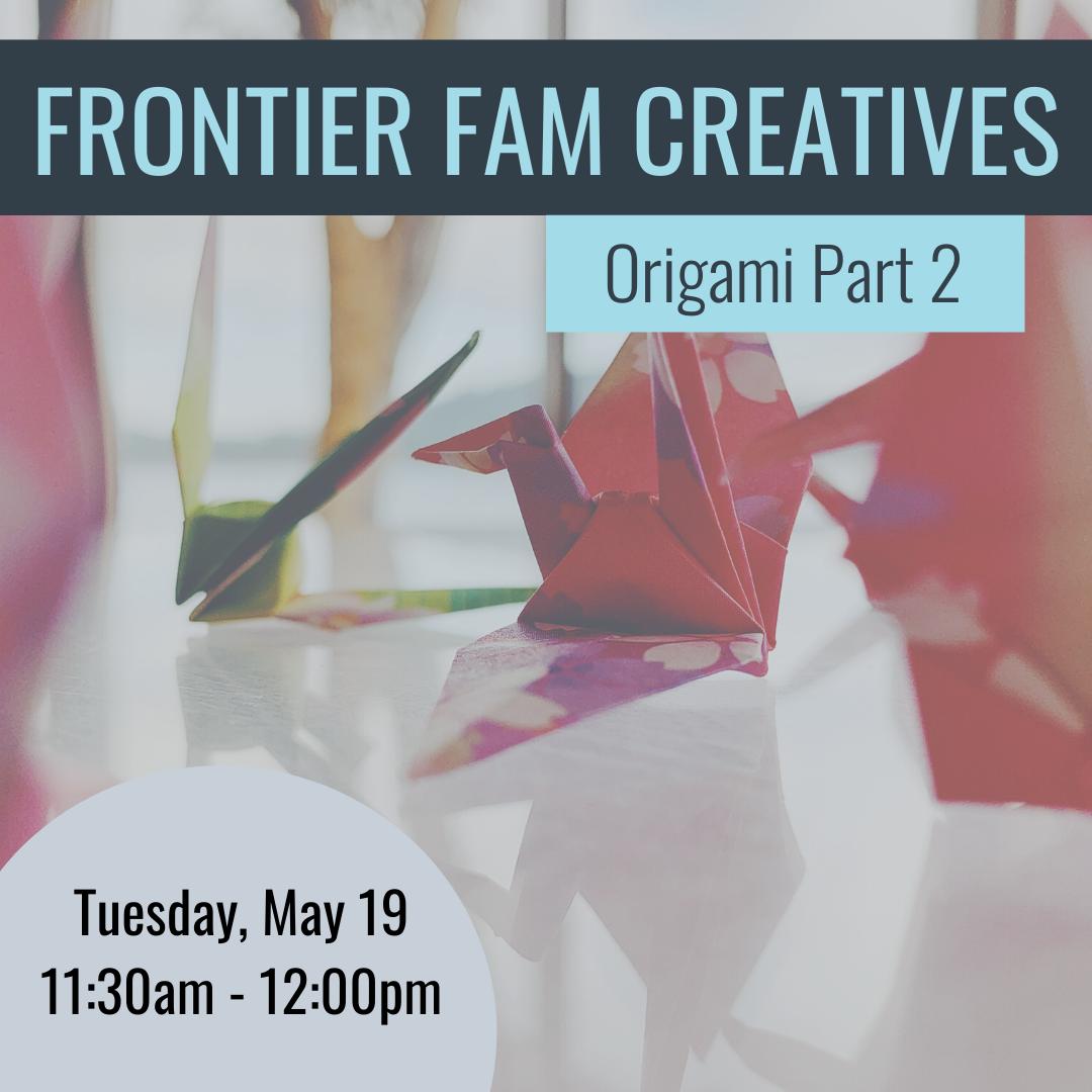 FFC- Origami Part 2