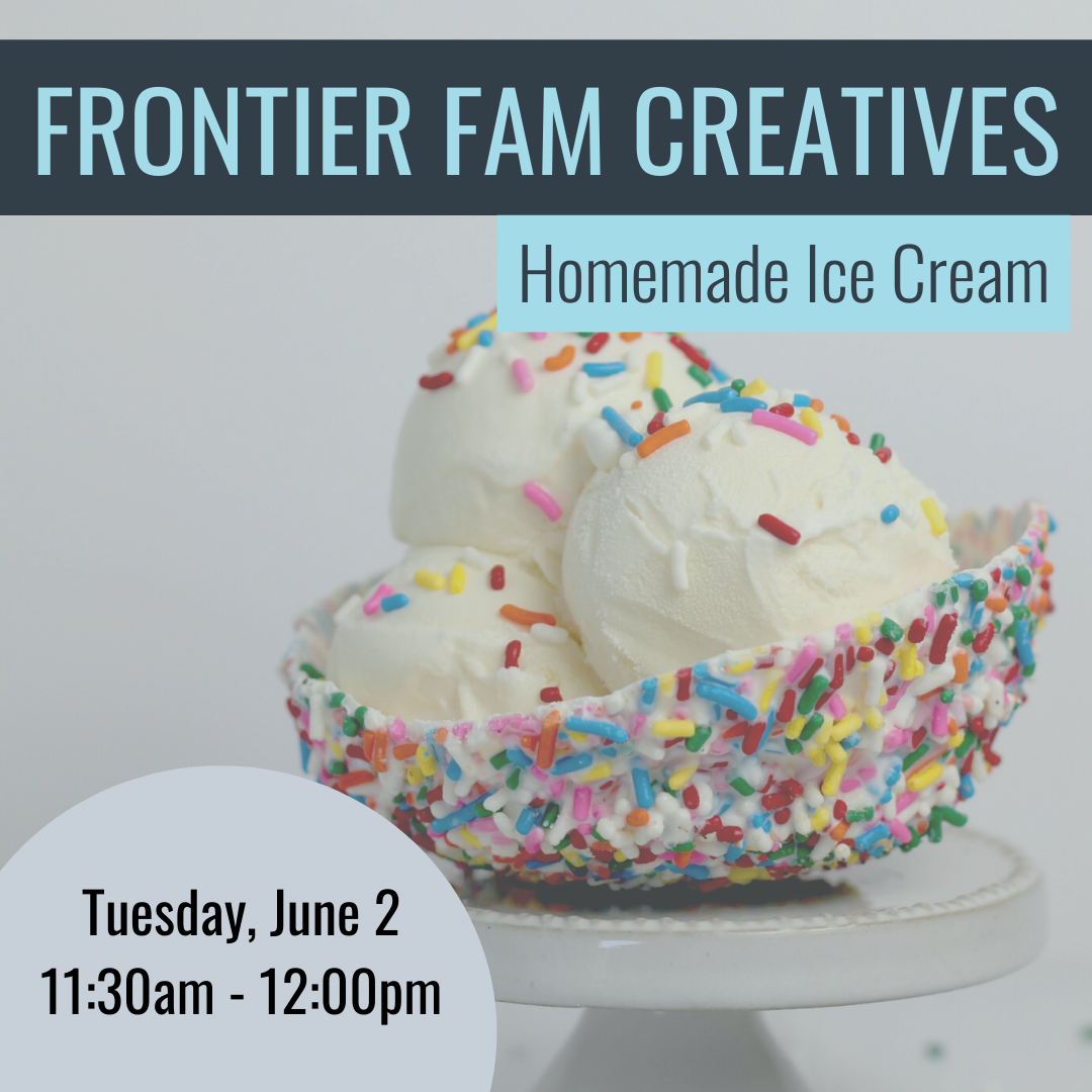 Frontier Fam- Ice Cream