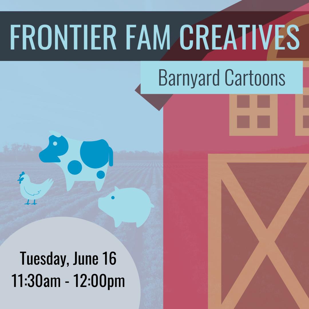 Frontier Fam Barnyard Cartoons