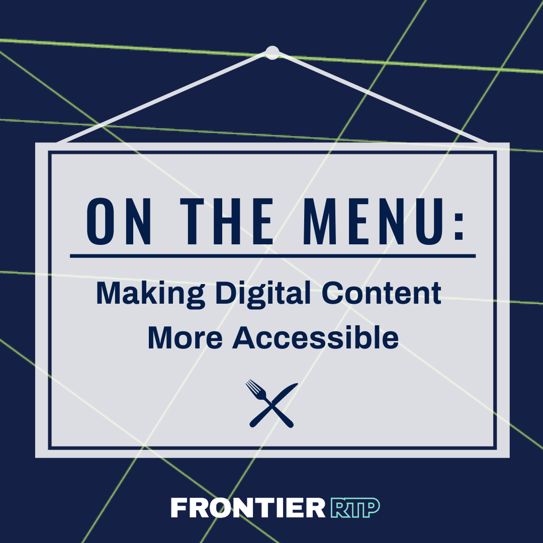 making digital content more accessible