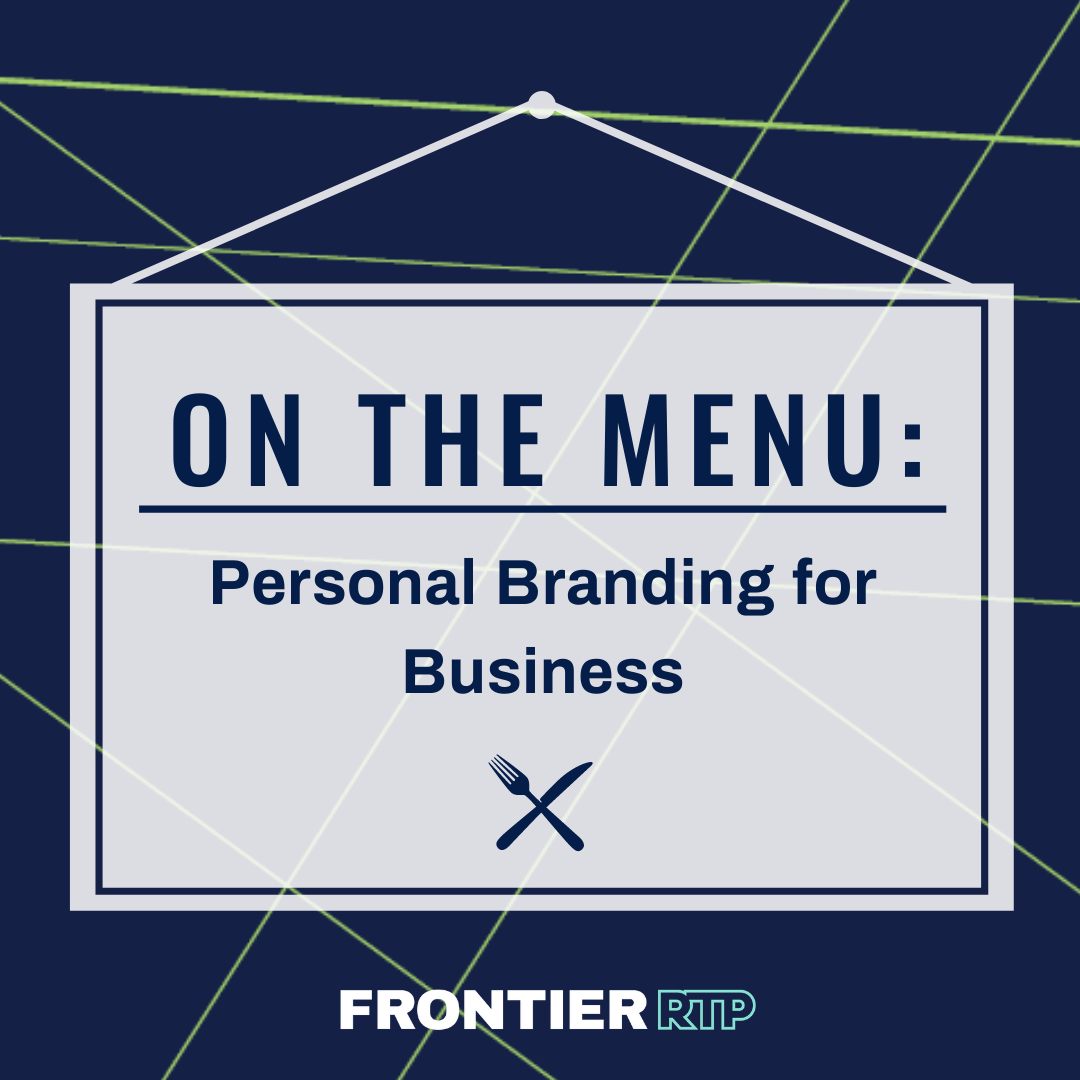 On the Menu: Personal Branding for Business