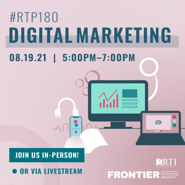 August Digital Marketing Flyer