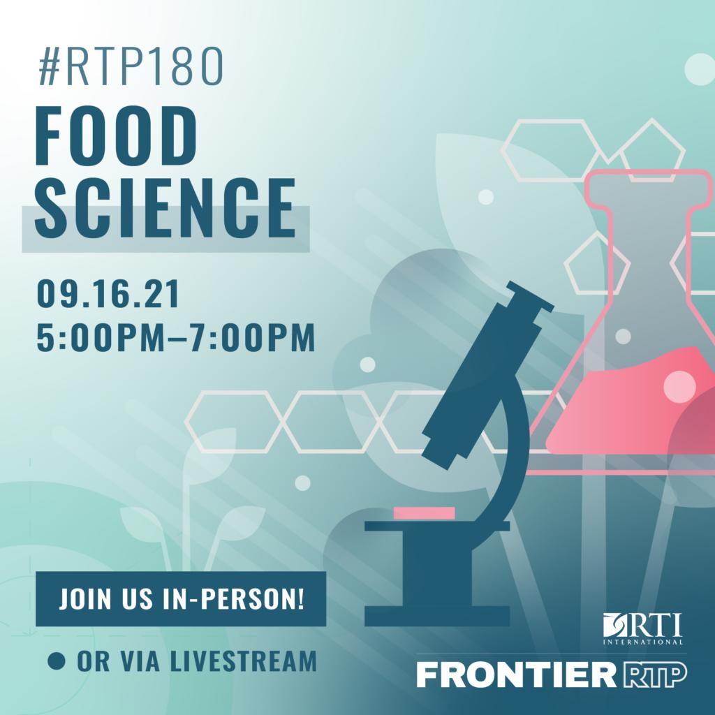 RTP180 Food Science Square Graphic