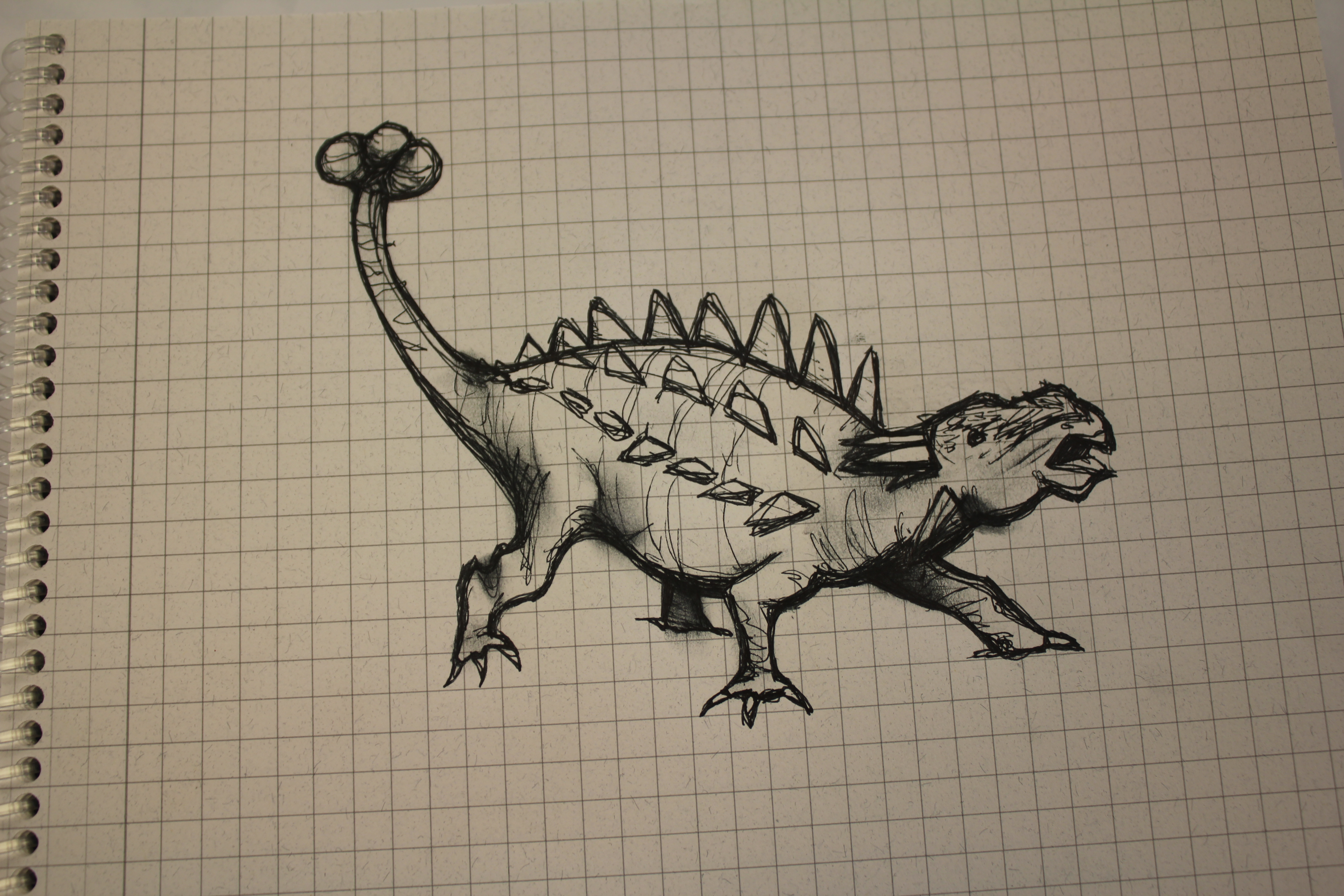 Christine's Dinosaur Drawing