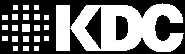KDC Logo in White