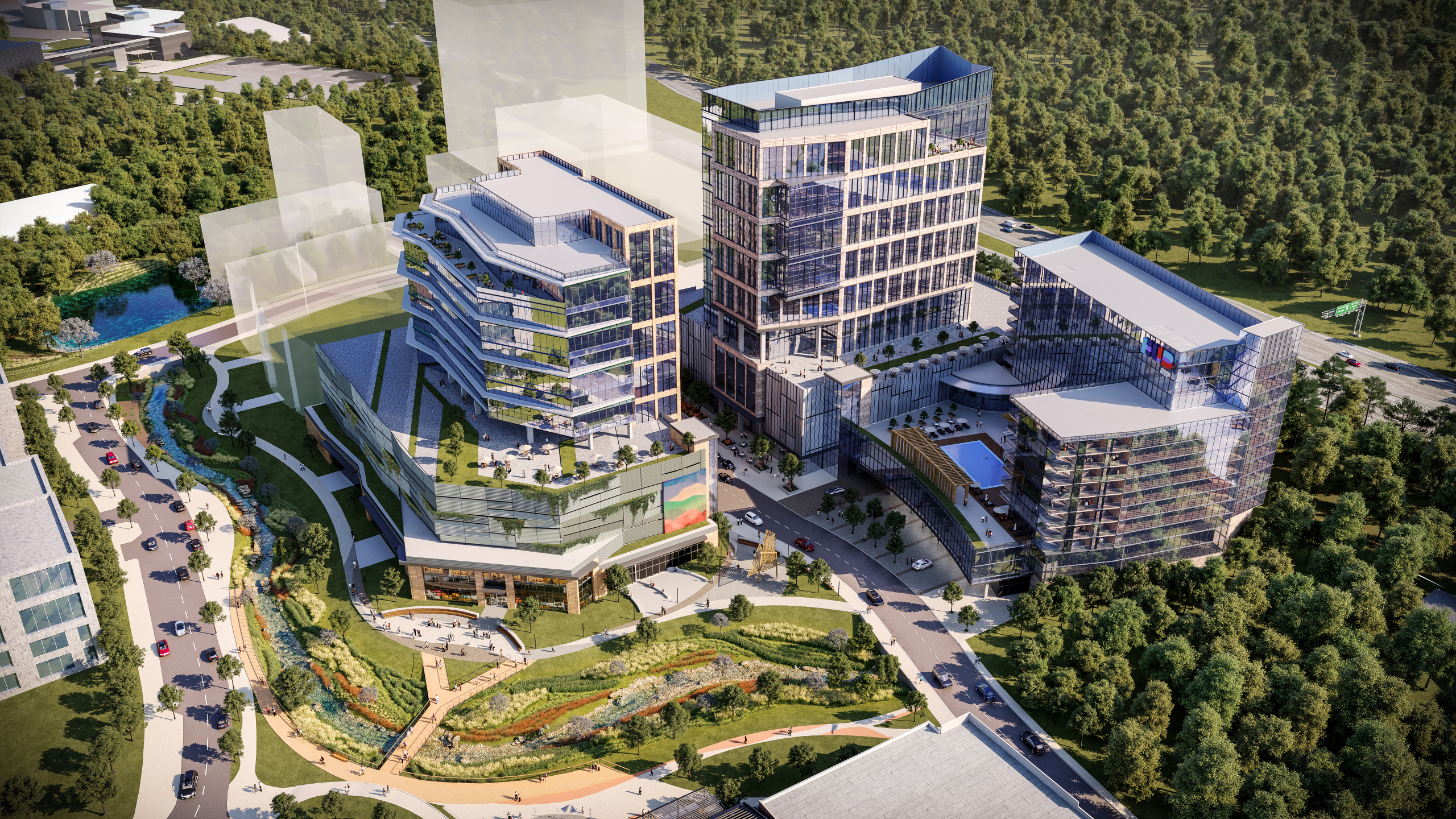 Hub RTP Office Rendering 4