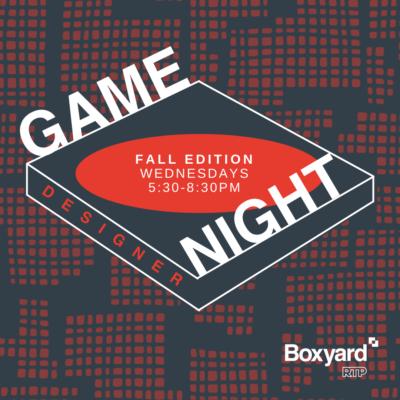 designer game night