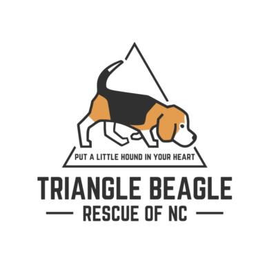 triangle beagle rescue logo