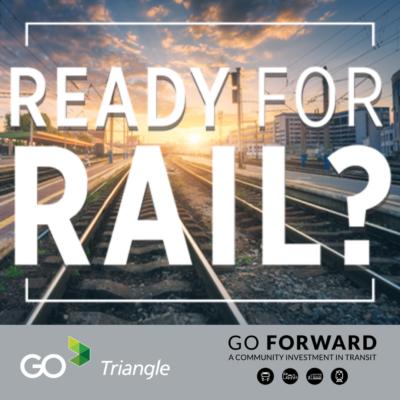 go triangle rail graphic