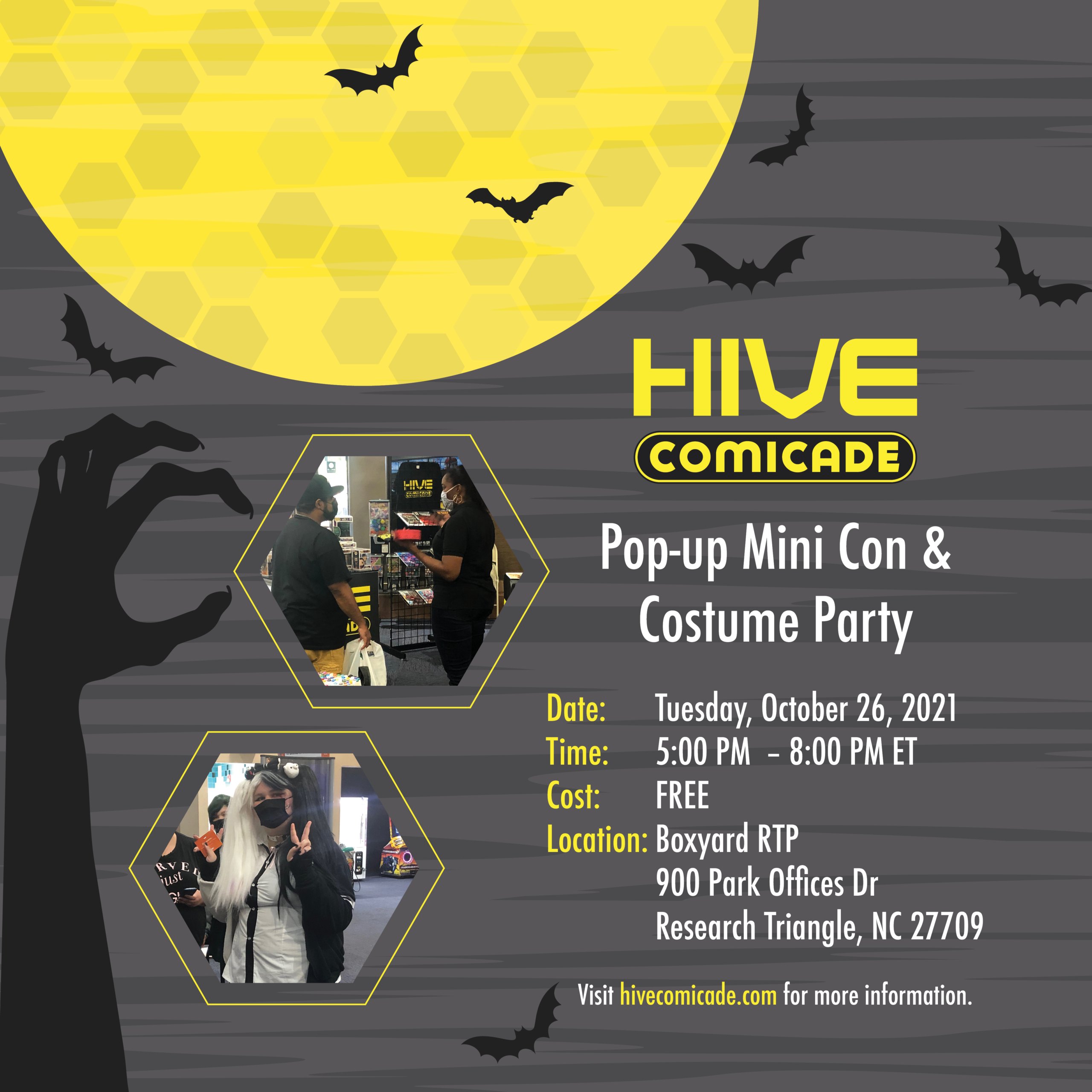 hive halloween